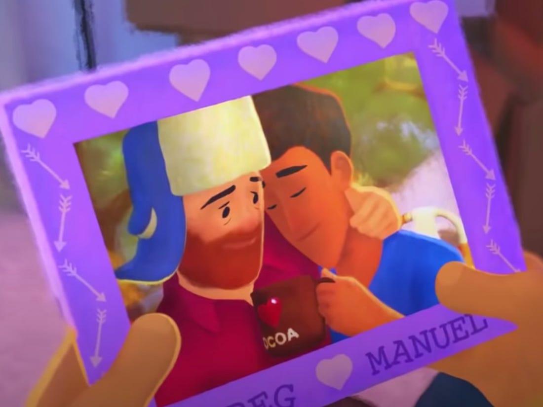 Pixar-elokuvassa ensimmäistä kertaa seksuaalivähemmistöä edustava päähenkilö