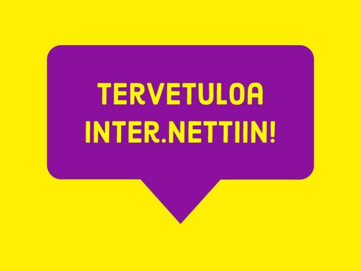 Inter.netti avautuu intersukupuolisten päivänä 26.10.