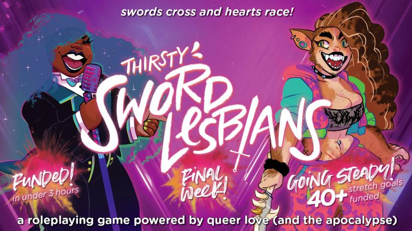 """""""Miekkalesboja"""" tulossa roolipelipöytiin – queer-teemainen peli menestyi joukkorahoituskampanjassa"""