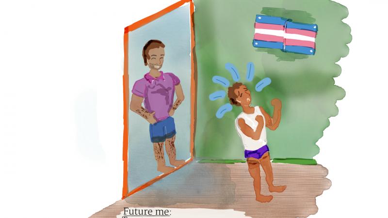 Kirjeet nuorelle minälle – transnäkyvyyden päivä 2021