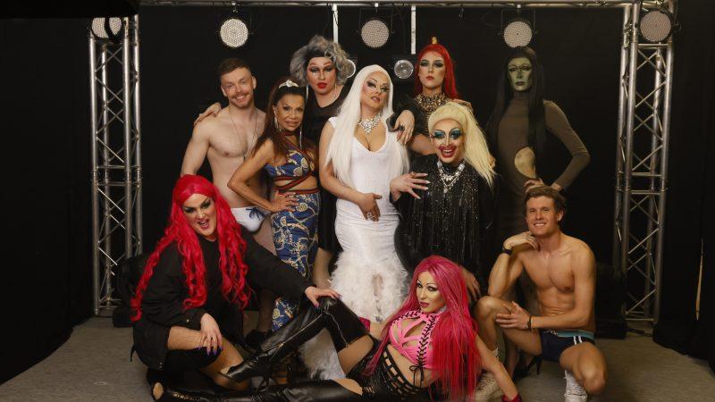 Nisan dragtähdet tuo katsojille ensimmäisen kotimaisen drag-viihdesarjan
