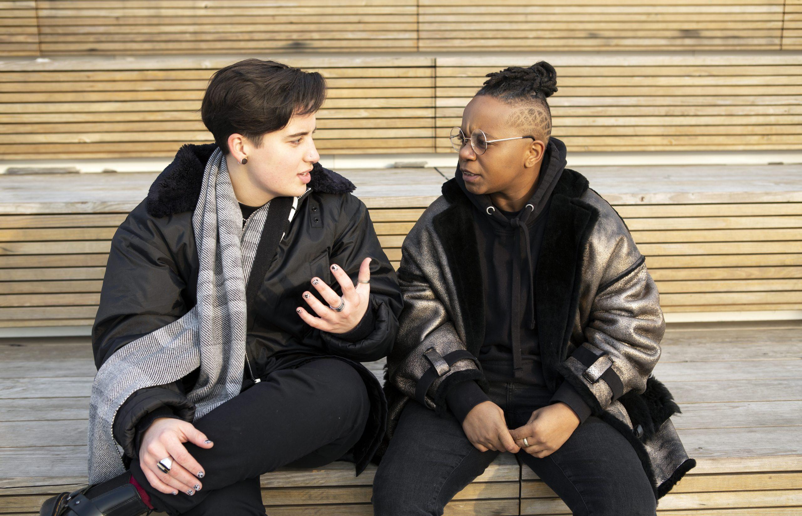 """""""Muunsukupuolisuus ei ole valkoista, eikä sen tarvitse olla"""""""
