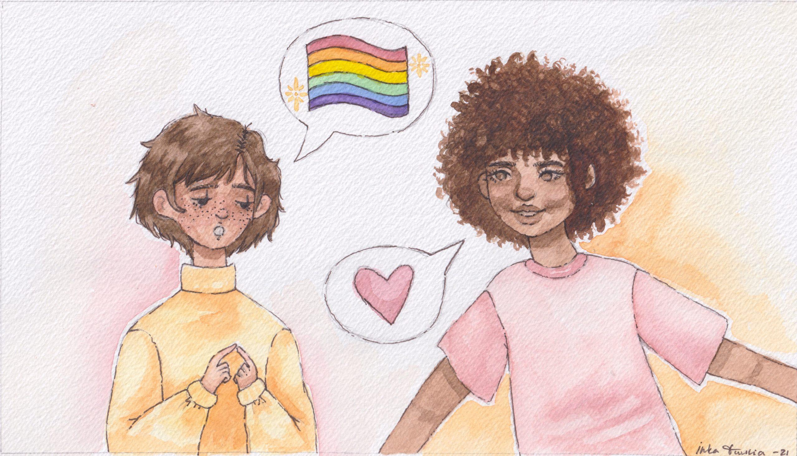 """""""Kunpa joku olisi kertonut, että prinsessakohtelun tulen saamaan butch-lesbolta"""""""